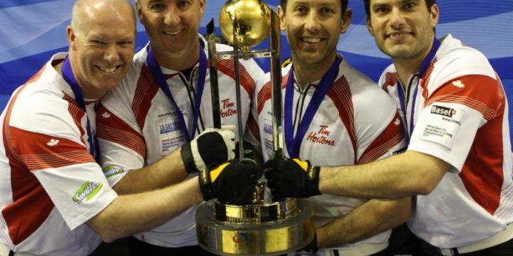Canada beat Olympic champions USA at World Men's Curling Championship