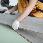 Repairman using timber floor installer in Sydney